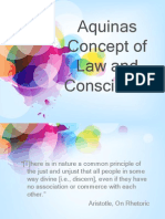 Aquinas Concept of Law and Conscience