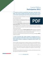 Cta Publica 2012