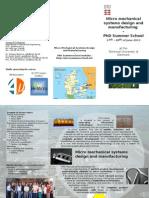 Leaflet 2013- Micro Summer School