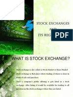 Stock Exchange & Its Regulations