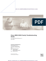 Cisco MDS 9000 Family Troubleshooting Guide 2