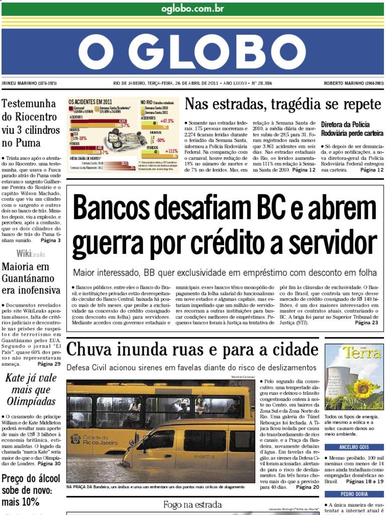 O Globo 260411 f679879d5c
