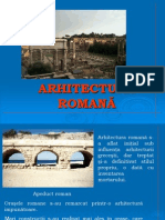 0arhitectura Romana