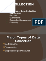 Data Colection Types