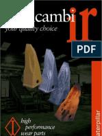 Medidas Uñas y Cuchillas Komatsu