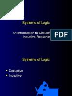 Deductive Inductive Reasoning