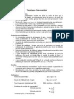 CE738G - Roteiro e  exercícios (micro - teoria do consumidor, teoria da firma)