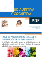Salud Auditiva y Cognitiva - Docentes y Estudiantes