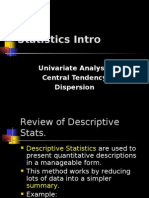 Intro to Stats