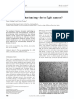 What Can Nanotechnology Do to Fight Cancer