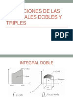 Aplicaciones de Las Integrales Dobles y Triples