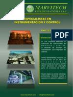 Brochure Marvitech