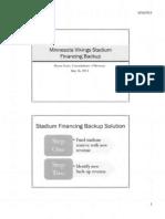 Stadium funding option