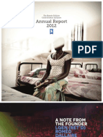 2012 Annual Report - The Roméo Dallaire Child Soldiers Initiative