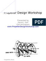 Propeller Design Workshop Part I