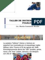 Taller de Instrumentos Folkloricos i