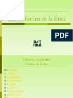 Historia Etica SANTO TOMAS