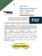 Psn Card Playstation Network Card Carto Psn 100 2x 50