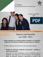 Presentación Fondo Emprender