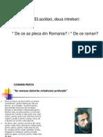 De Ce as Pleca Din Romania
