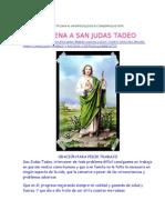 Novena San Judas Tadeo