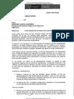 Carta Del Ministro Silva