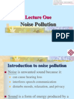 Lecture One Noise Pollution Web