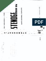Stenografie Dup Sistemul Duploye Ion Vasilescu Pierre Dephanis