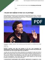 Ne pas faire reposer le futur sur un privilège - PaperJam Luxembourg - Futurist Gerd Leonhard