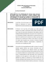 OE-2013-027 entrega bases de datos para integrar información a los oficiales de orden Público