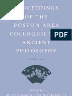 9004142495 - Gary M. Gurtler - Proceedings of the Boston Area Colloquium in Ancient Philosophy, 20 Volume XX - Brill Academic Pub
