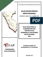 1_Plan Estratégico 2013 - 2021 - DOCUMENTO DE TRABAJO