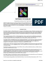 [Religion Judaism Mysticism] Kabbalah - Sepher Yetzirah.pdf
