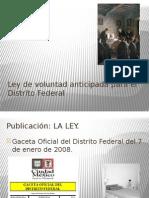 Ley de voluntad anticipada para el Distrito Federal.pptx