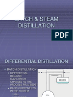 Batch Distillation