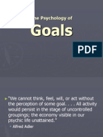 The Psychology of Goals.ppt