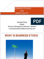 Business Ethics and Spirituality