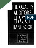 Ref. The Quality Auditor's HACCP Handbook.pdf