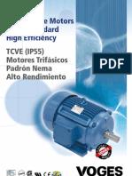 10 06 87 Nema TEFC Ip55 en ES FI Baixa