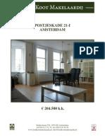 Brochure Postjeskade 21 i