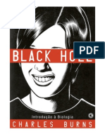 BLACK HOLE - Introdução a Biologia Vol.1 - Charles Burns