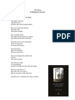 A Poor Woman Learns to Write, a Poem from The Door by Margaret Atwood