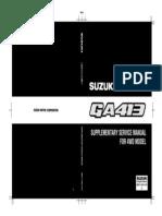 GA413 4WD Supplement