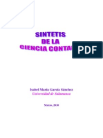 síntesis de la ciencia contable