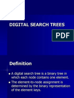 Digital Search Tree