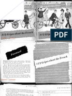 112 Gripes About the French