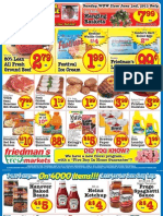 Friedman's Freshmarkets - Weekly Specials - May 30 - June5, 2013