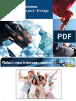 Manejo de Relaciones Interpersonales en El Trabajo
