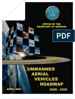 Unmanned Aerial Vehicles Roadmap (2000-2025)