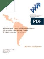 SELA - Relevamiento de Organismos, Instituciones y Agencia